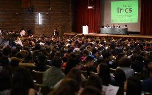 Milers d'alumnes han assistit en la primera jornada del Fòrum TRiCS.