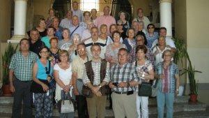 Imatge d'un viatge cultural anterior de l'Associació de Jubilats i Pensionistes del Morell.