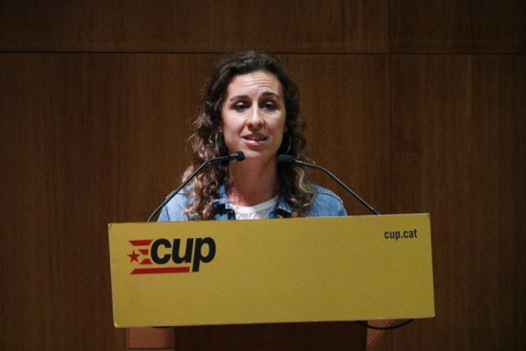Laia Estrada, portaveu de la CUP Tarragona