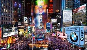 Nueva York acoge la entrada al año nuevo más famosa del mundo.