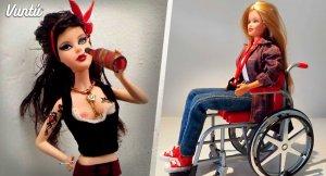 A continuación las Barbies más raras de la Historia.