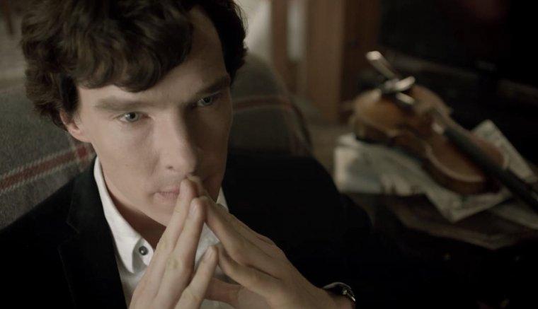 Sherlock Holmes es un claro ejemplo de memoria prodigiosa potenciada sobre todo por una buena técnica.