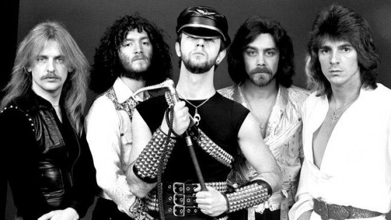 Judas Priest, una de las bandas representativas del metal, en 1985.