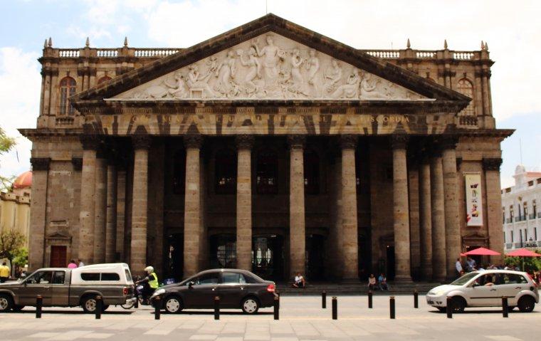 Teatro Degollado.
