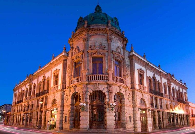 Teatro Macedonio Alcalá.