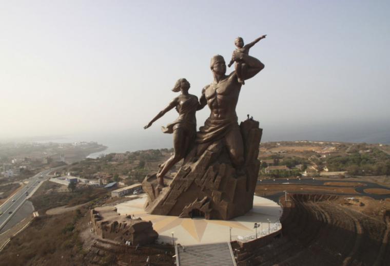 Una de las estatuas más originales y artísticas.