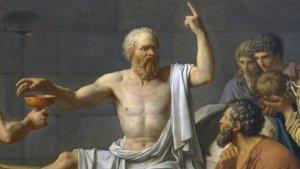 El filósofo y político Sócrates es uno de los máximos representantes del conocimiento occidental.