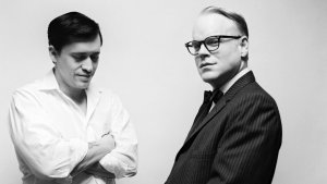Fotograma de Truman Capote, una de las mejores películas biográficas.