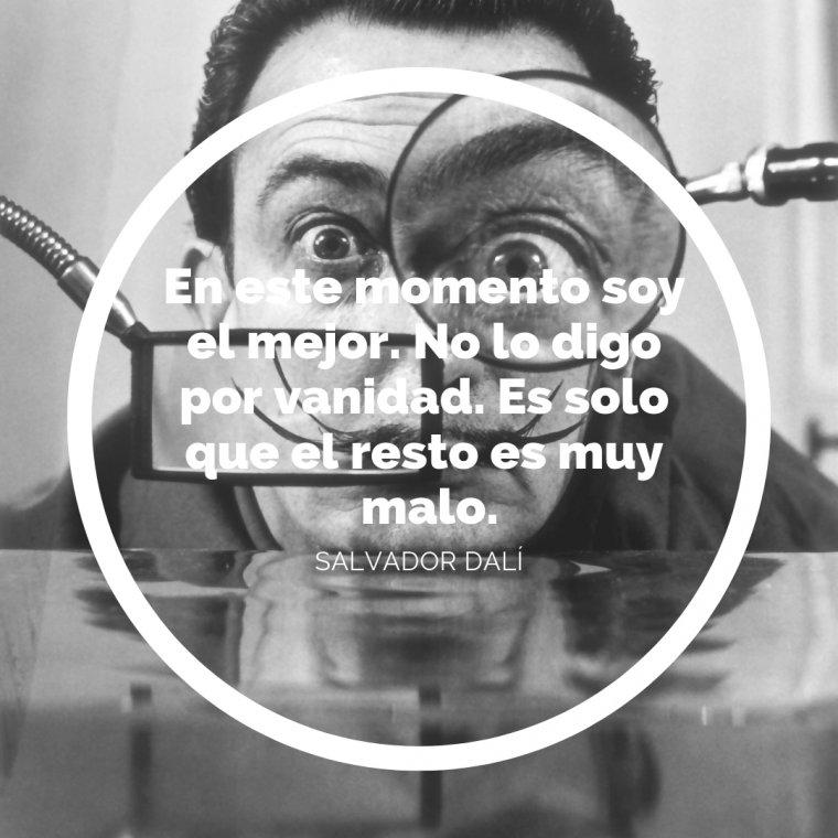 Frase de Dalí.