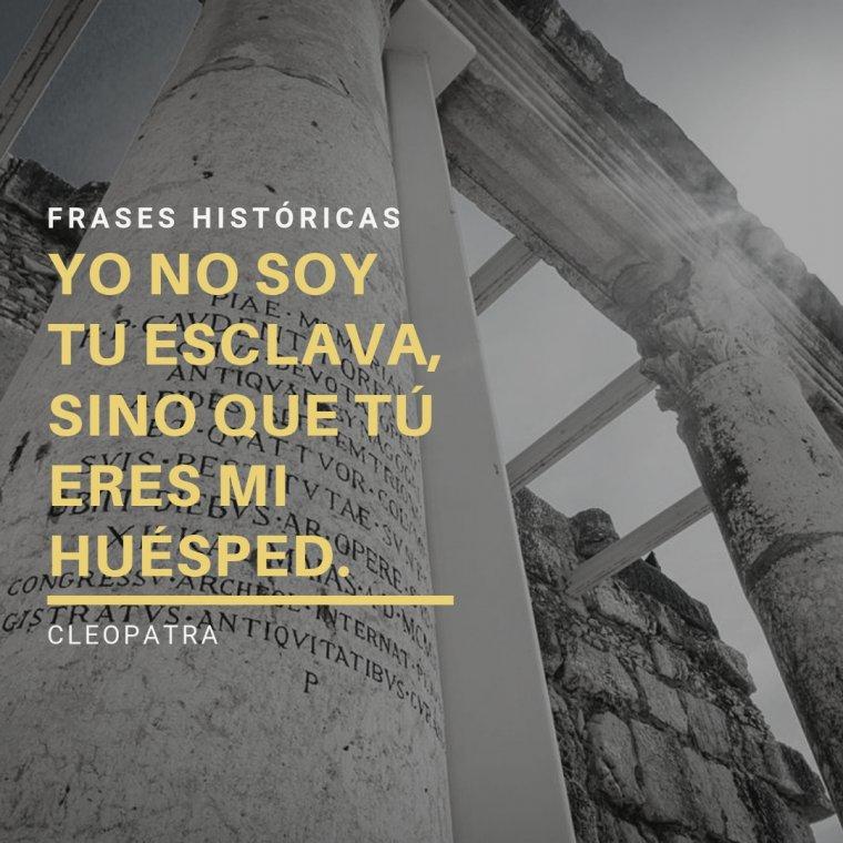 Frases históricas.