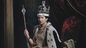 Fotograma de The Crown, una de las mejores series británicas actuales.