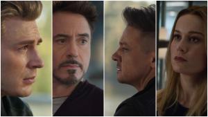 Protagonistas del nuevo trailer de Los Vengadores: Endgame.