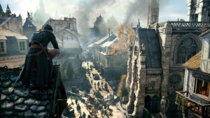 Notre Dame en Assassin's Creed: Unity.