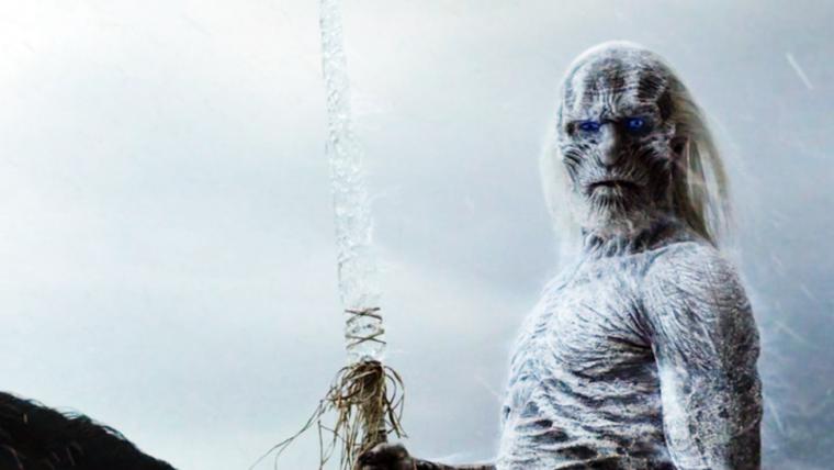 Uno de los Caminantes Blancos que aparece en la serie.