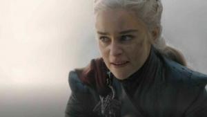 Daenerys en la temporada final de Juego de Tronos.