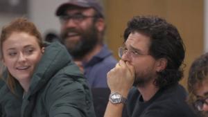Kit Harrington rompe a llorar en 'La Última Guardia'.