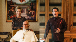 Sharon Stone y Marilyn Manson, nuevos fichajes para 'The New Pope'.