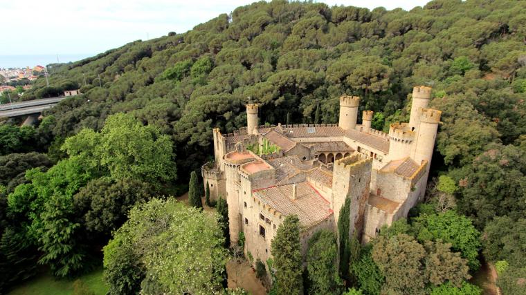 Castillo de Santa Florentina, Canet de Mar.