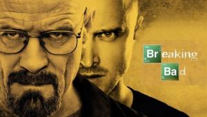 Imagen promocional de la 4ª Temporada de 'Breaking Bad' (2008-2013), con Bryan Cranston y Aaron Paul