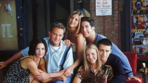 Imagen de la famosa sitcom Friends, ahora propiedad de HBO.