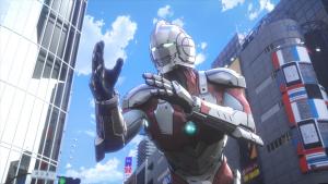 Imagen del nuevo anime de Netflix, Ultraman.