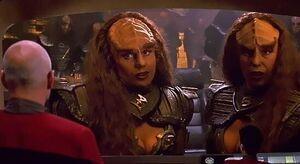 Barbara March en 'Star Trek: The New Generation'.