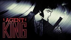 Imagen promocional de la nueva serie de animación de Netflix, 'Agent King'