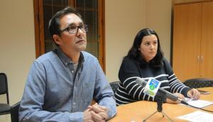 Oscar Blasco i Verónica Moreno, de Sí Se Puede.