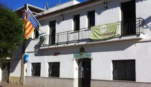 Façana de l'Ajuntament de Cunit.