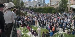 Les visites a La Giralda van ser l'acte més destacat de la Fira Modernista.
