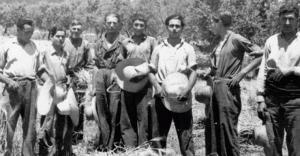 Foto dels anys del contraban a Cunit.