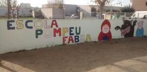 L'escola Pompeu Fabra de Cunit.