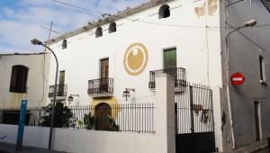 La masia de Cal Rion del nucli antic de Calafell.