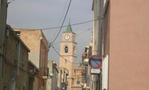 El centre de Llorenç del Penedès.