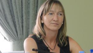 L'alcaldessa de Cunit, Montserrat Carreras.