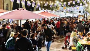 L'espai gastronòmic de la Fira de Santa Teresa del Vendrell.