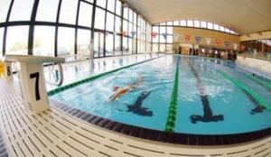 La piscina municipal del carrer del Doctor Robert.