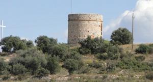 La torre del Puig del Vendrell.