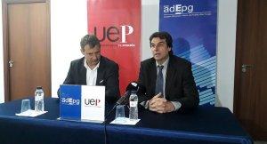 Santi Carda (UEP) i Martí Sistané (Adepg).