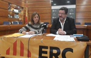 Eva Mata i Jaume Vallès.