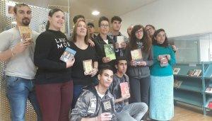 Alumnes de l'Escola d'Adults del Vendrell que han participat al projecte dels 'Booktubers'.