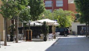 La plaça de Ca l'Escori del Vendrell.