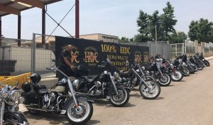 La trobada de Harley Davidson s'ha celebrat enguany a Banyeres.