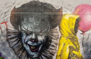 El grafit guanyador d'aquesta edició del Cultura Urbana.
