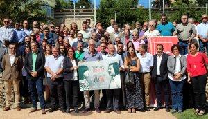 Els alcaldes i regidors del PSC, a Tarragona.