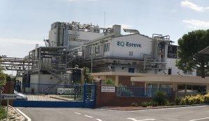 La planta d'EQ Esteve de Banyeres del Penedès.