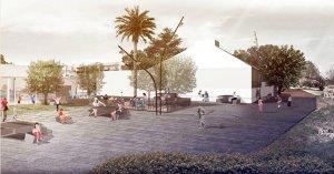 Imatge virtual de com es preveu la futura plaça dels Terrossos.