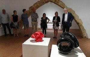 La inauguració de la Biennal de Ceràmica del Vendrell.