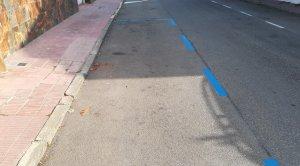 L'aparcament de la zona comercial del Francàs.