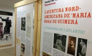 L'exposició sobre l'aventura nord-americana de 'Maria Rosa' de Guimerà.